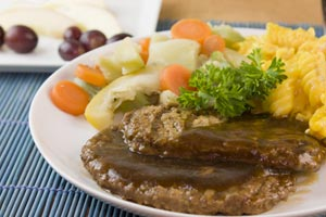 Golden Salisbury Steak and more recipes