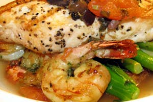Seafood Thermador and more recipes
