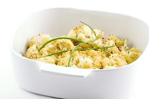 Low Fat Cheesy Cauliflower and more recipes