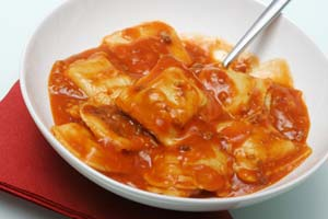 Beef Ravioli With Quick Tomato Sauce and more recipes