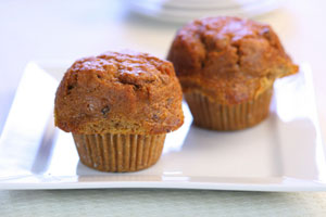 Cream Cheese Filled Pumpkin Muffins and more recipes