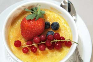 Diabetic Custard Brulee and more recipes