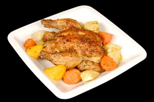 Rock Cornish Hens and more recipes