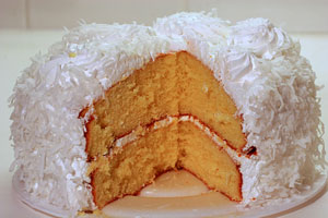 Moist And Creamy Coconut Cake and more recipes
