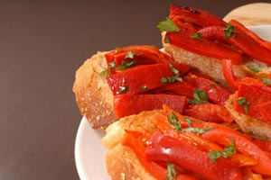 Tomato Basil Crostini and more recipes