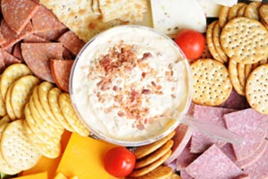 Touchdown Bacon Cheese Dip and more recipes