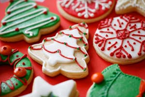 Christmas Nut Thins and more recipes