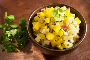 Mango-Melon Salsa and more recipes