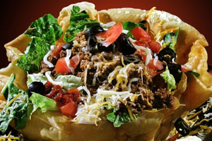 Party Taco Salad and more recipes