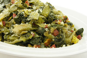 Turnip Greens With Hog Jowl and more recipes