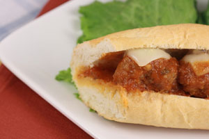 Deluxe Meatball Subs and more recipes