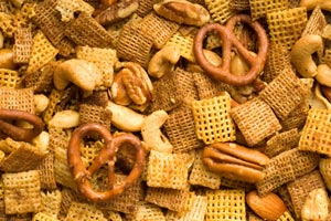 Cheese Snack Mix and more recipes