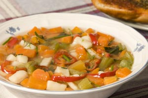 Dixie Stampede's Cream Of Vegetable Soup and more recipes