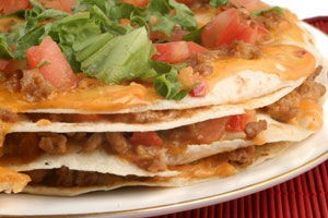 Mexican Beef Pizza and more recipes