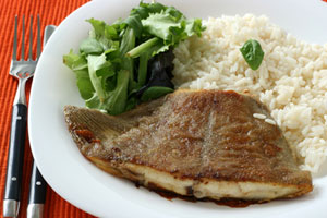 Baked Flounder With Vegetables and more recipes