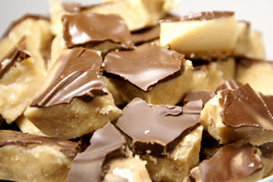 Mahogany Butter Crunch Toffee and more recipes