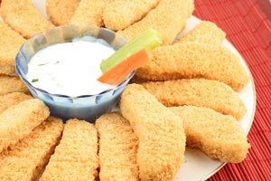 Super Easy Chicken Fingers and more recipes