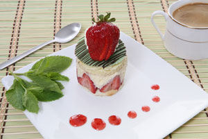 Strawberry Crunch and more recipes