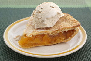 Marshmallow Cream Peach Pie and more recipes