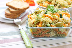Mushroom Antipasto Pasta Salad and more recipes
