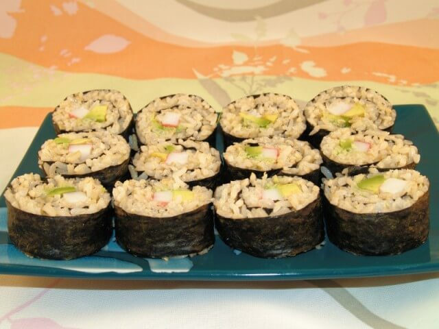 Easy California Roll Sushi Recipe