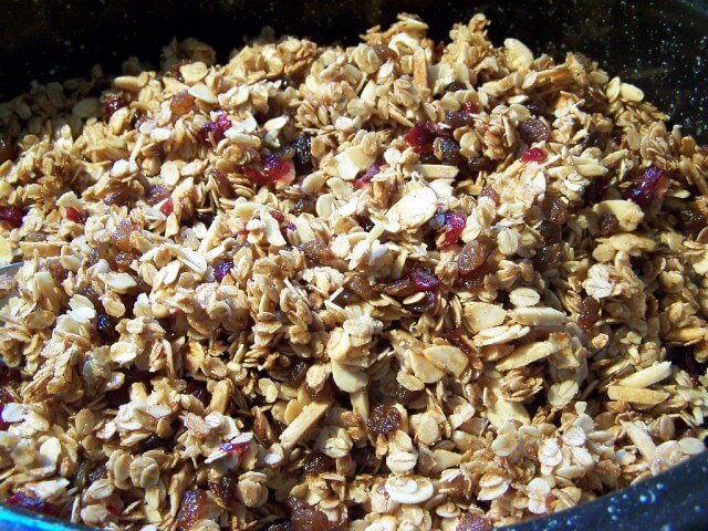 delicious homemade granola recipe that can be eaten as a snack ...