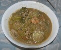 Seafood Gumbo made on National Gumbo Day October 12