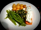 Photo of Baked Salmon with Cucumber Dill Sauce