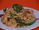 Recipe for Thai-Style Spicy Shrimp And Noodles