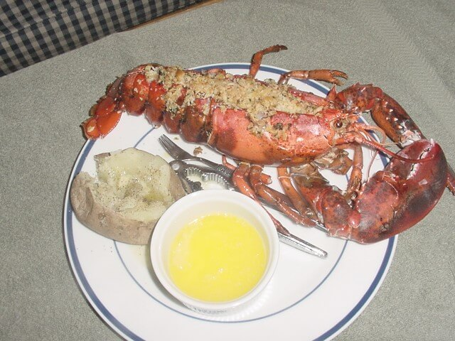 Baked Stuffed Lobster Recipe | CDKitchen.com