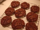 Photo of Absolutely Deep Dark Chocolate Fudge Cookies