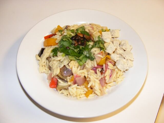 Orzo With Roasted Vegetables Recipe | CDKitchen.com