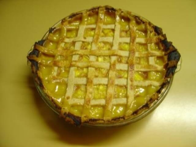 Fresh Pineapple Pie Recipe