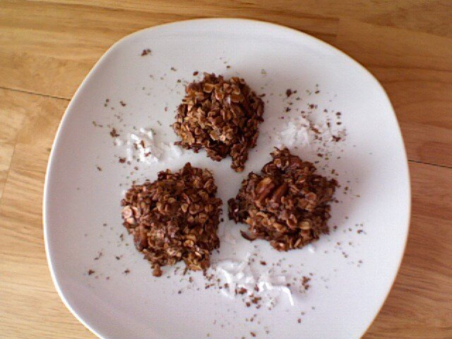 Chocolate Oatmeal Coconut Candies (Chocolate Haystacks) Recipe