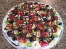 Photo of Fruity Brownie Pizza