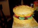 Photo of Cheese Burger Cake