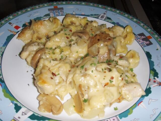 Chicken Tortellini Casserole Recipe