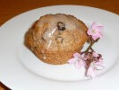 Applesause Bran Muffin with glazing