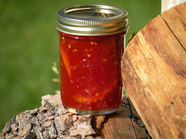 Aunt Della's Tomato Preserves Recipe from CDKitchen