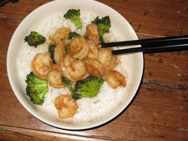 Garlic Shrimp Stir-Fry Recipe | CDKitchen.com