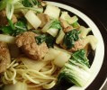 Photo of Asian Turkey Meatballs With Bok Choy Recipe on CDKitchen