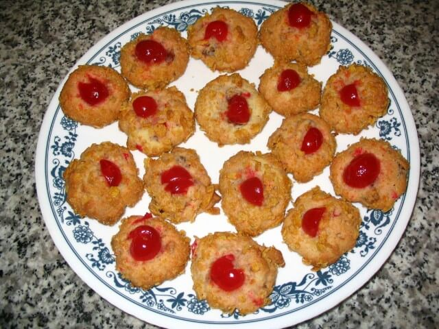 Cherry Wink Cookies Recipe