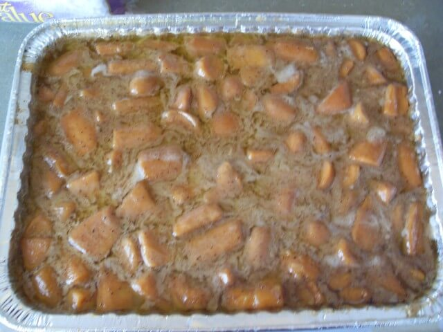Barbara's Candied Yams Recipe