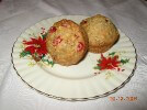 Photo of Cranberry Cherry Flaxseed Muffins