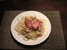 Photo of Lobster Saute with Linguine Recipe on CDKitchen