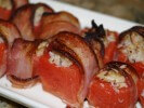 Photo of Bacon-Wrapped Crab-Stuffed Watermelon