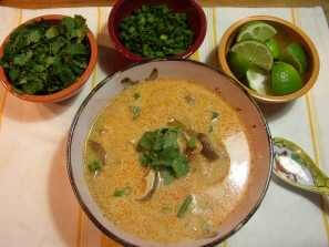 Tom Ka Gai (Thai Coconut Soup) Recipe