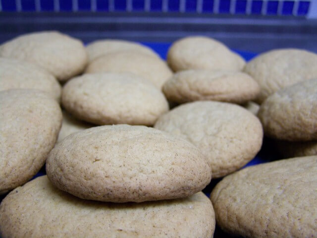 recipe for chewy maple cookies