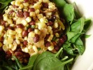 Photo of Chili-Lime Corn And Spinach Salad Recipe on CDKitchen
