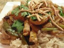 Photo of Pork And Vegetable Stir-Fry Over Brown Rice Recipe on CDKitchen